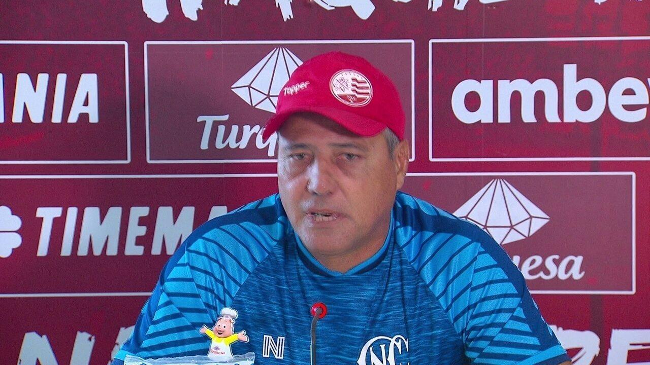 Márcio Goiano minimiza pressão da torcida sobre o Náutico