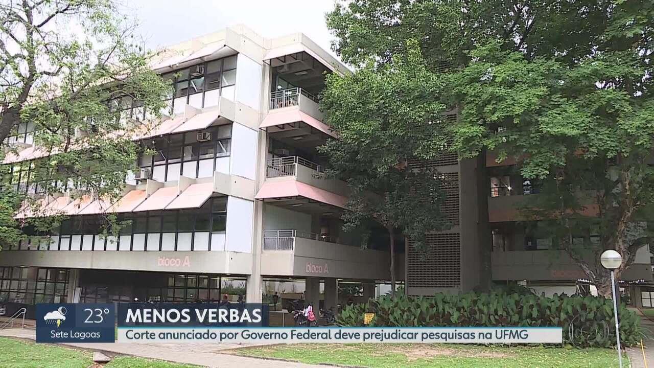 Corte anunciado por Governo Federal deve prejudicar pesquisas na UFMG