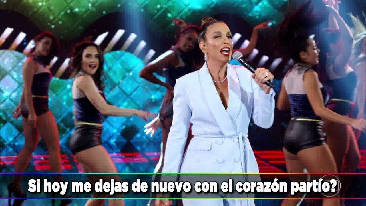Ivete Sangalo canta 'Corazón Partío'