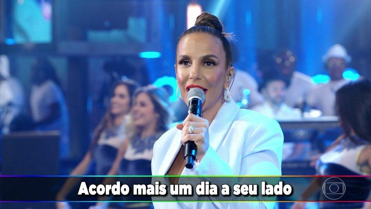 Ivete Sangalo canta 'Estar Com Você'
