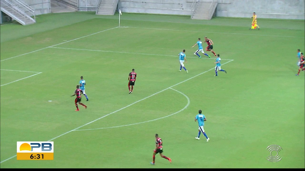 Assista o gol da vitoria do Campinense diante do Vitória-PE