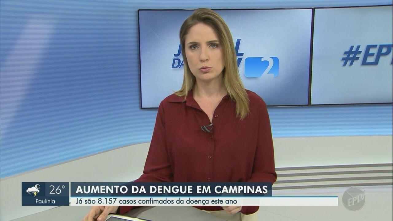 Campinas confirma segunda morte por dengue e casos chegam a 8.157 em 2019