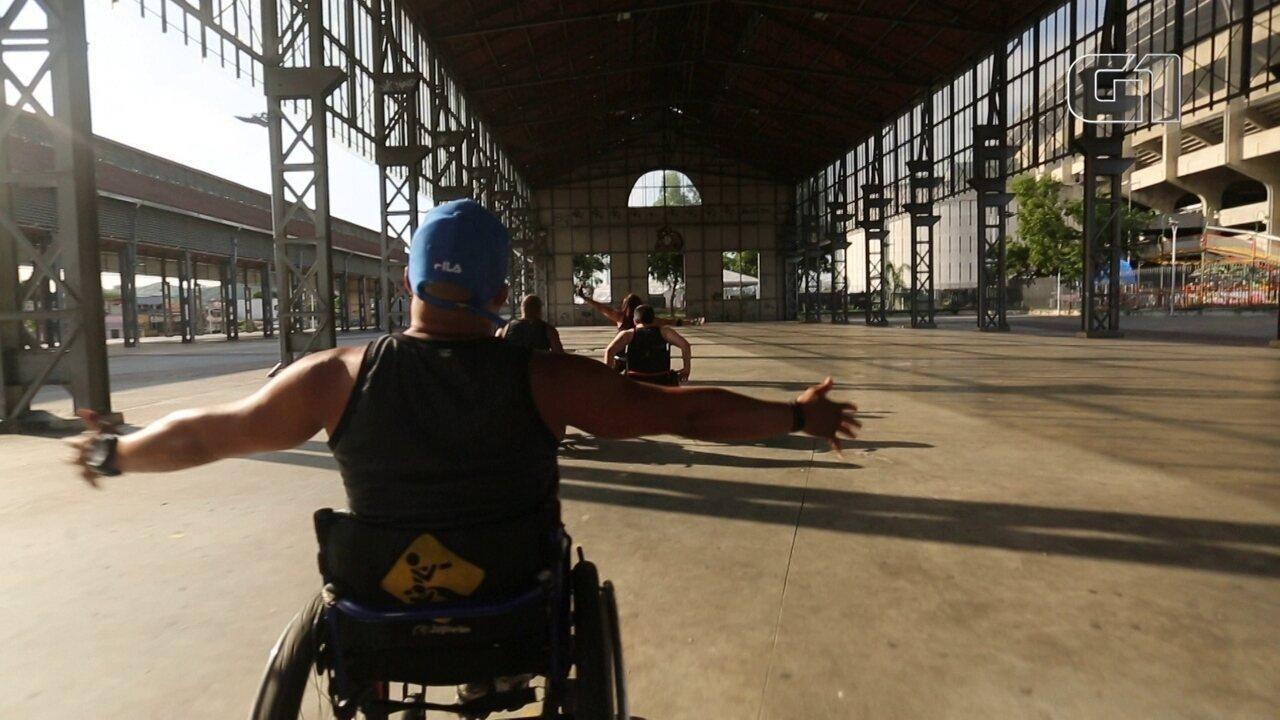 Circuito funcional adaptado para cadeirantes é alternativa para sedentarismo e depressão