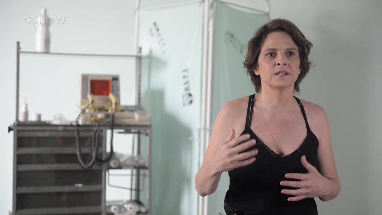 Drica Moraes fala sobre sua personagem Dra. Vera em 'Sob Pressão'