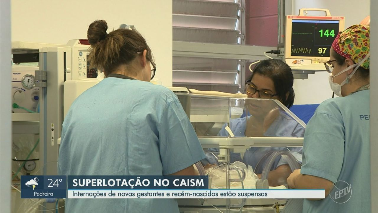 Caism suspende novas internações de gestantes e recém-nascidos