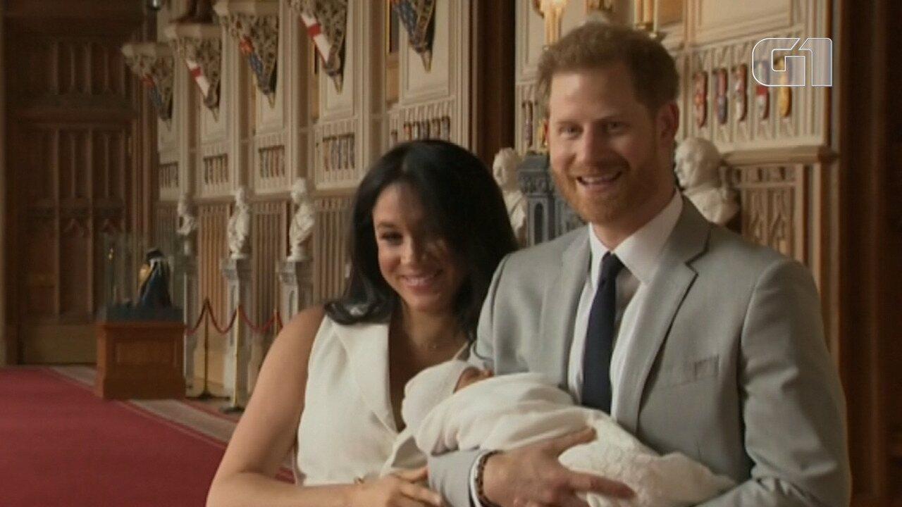 Relembre a linha sucessória da família real britânica até o novo bebê de Megan e Harry
