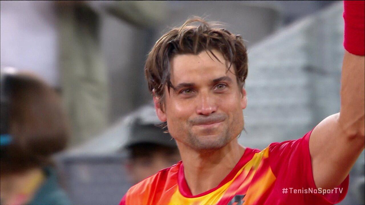 Vídeo completo da despedida de David Ferrer