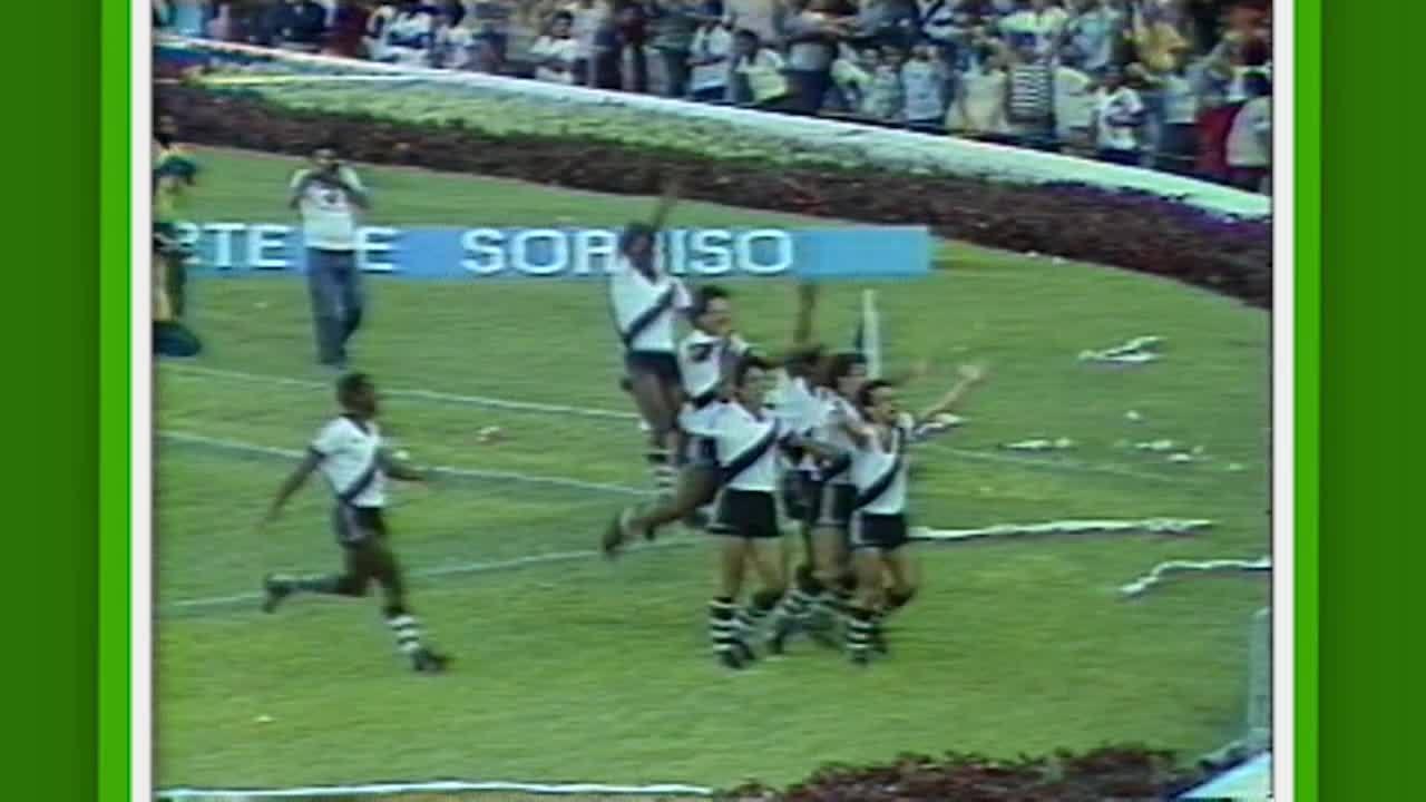 Veja o gol de Marquinho para o Vasco, na final do Carioca de 1982