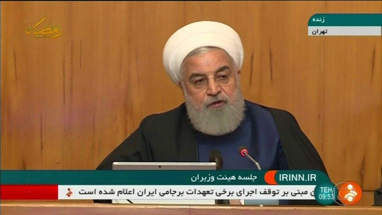 Irã suspende parte do acordo nuclear de 2015