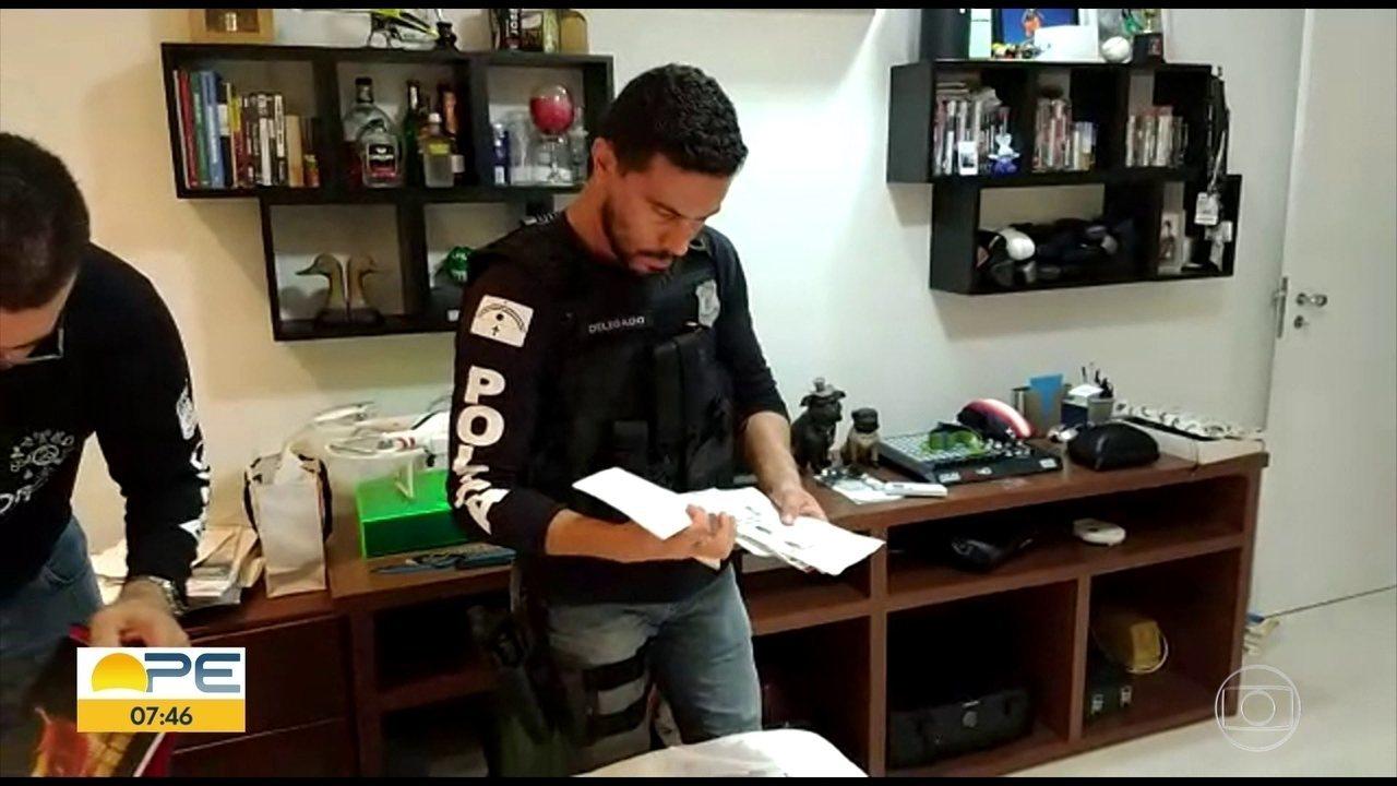 Polícia e Secretaria da Fazenda fazem ação contra nove suspeitos de lavagem de dinheiro