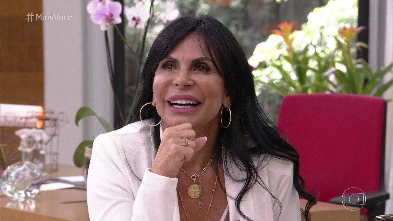 Gretchen conversa com Ana Maria Braga sobre a chegada dos 60 anos