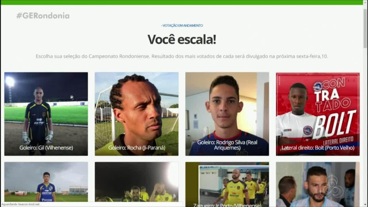 Seleção Rondoniense: enquete ESCALA VOCÊ!