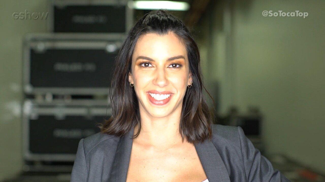 Camila Coutinho é Apresentadora Top por um dia no 'SóTocaTop'