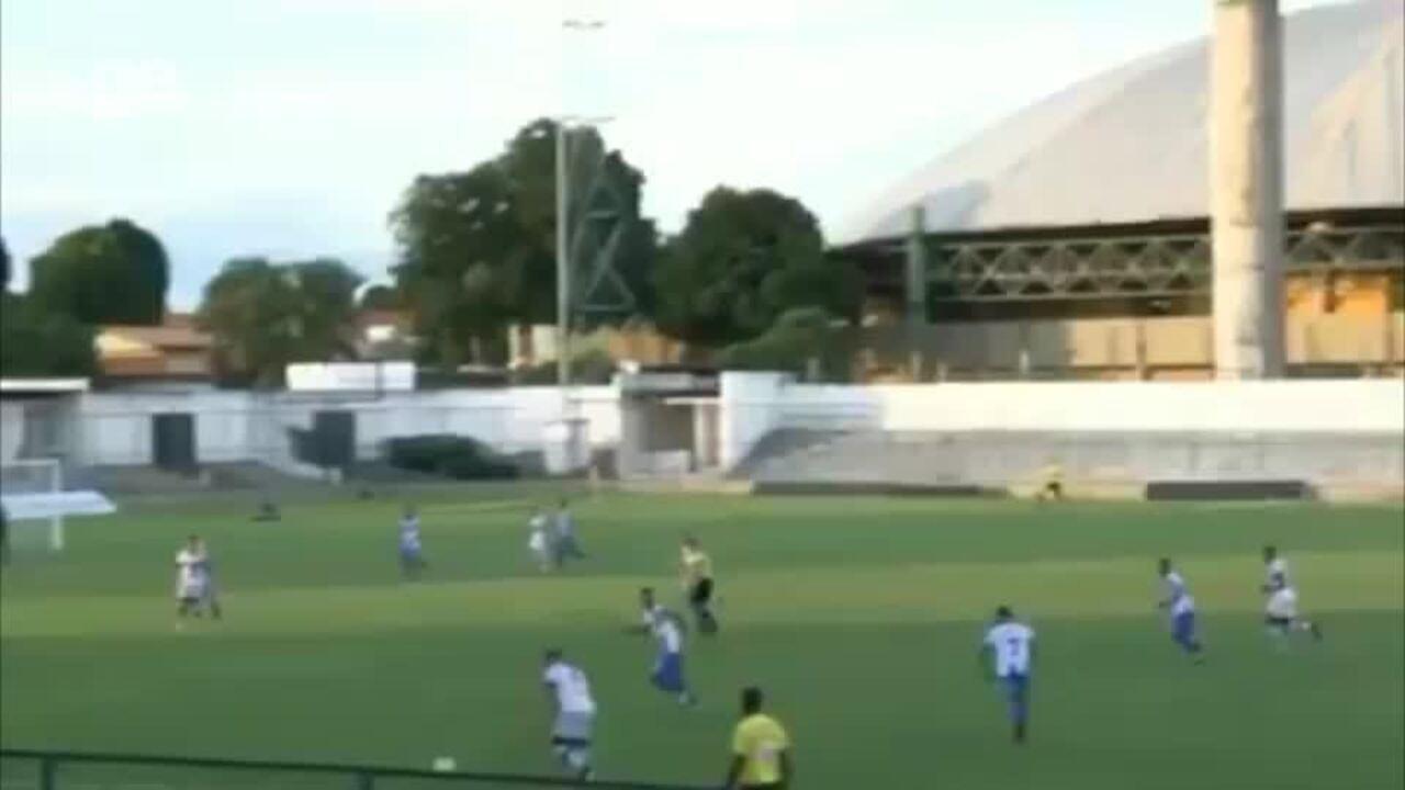 Klemer marca gol de fora da área em goleada do River-PI no sub-19
