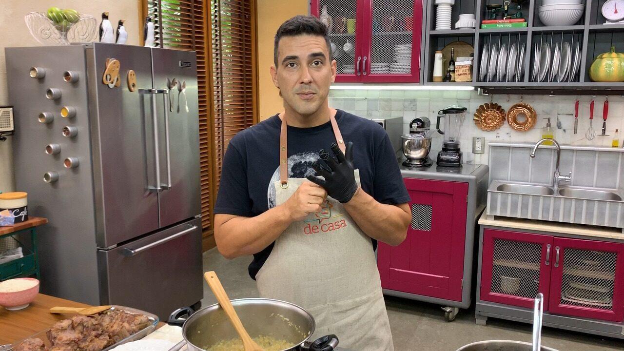 Andre Marques fala sobre o amor pela cozinha