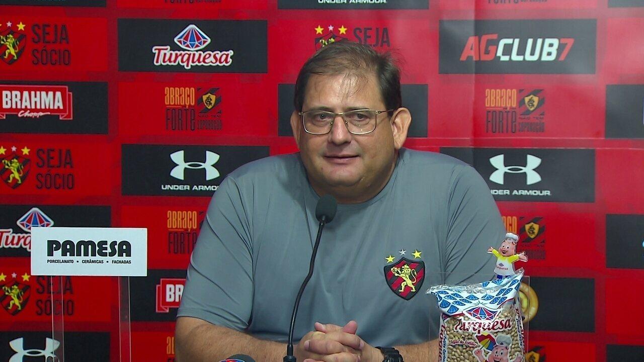 Assista a coletiva do técnico Guto Ferreira na íntegra