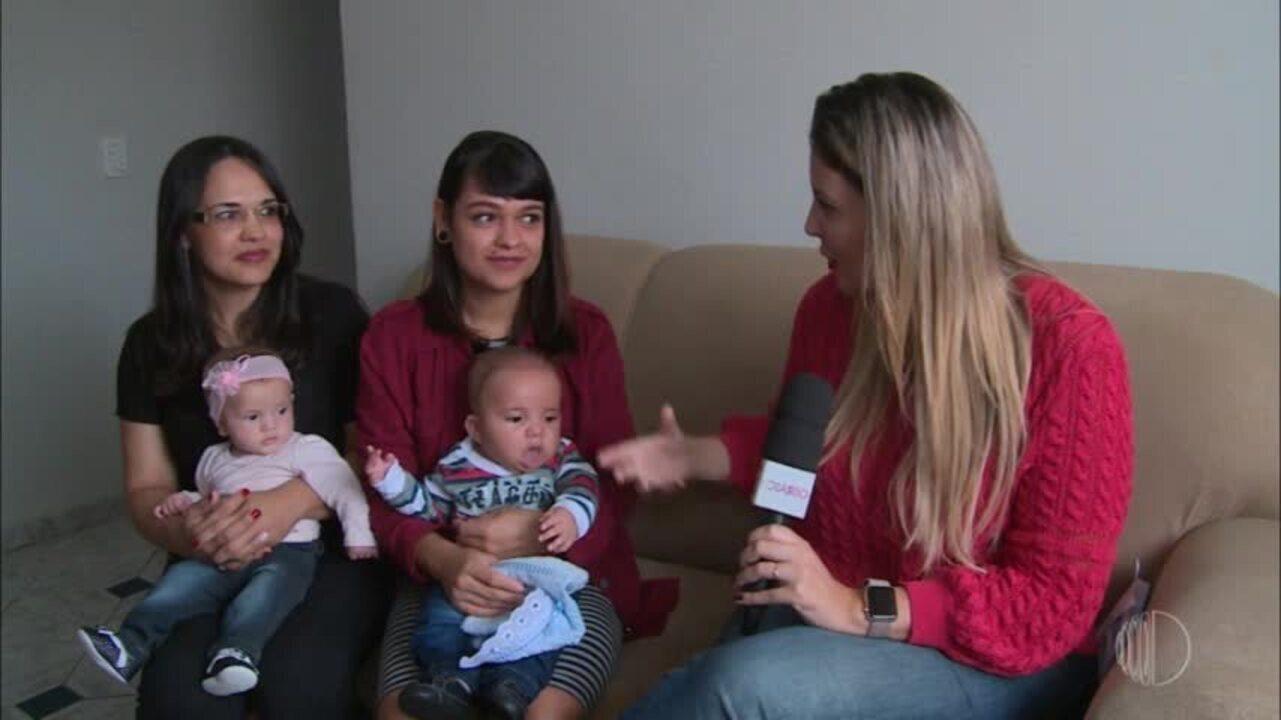 Barriga solidária: a Tatiane realizou o sonho de se tornar mãe com a ajuda da sobrinha