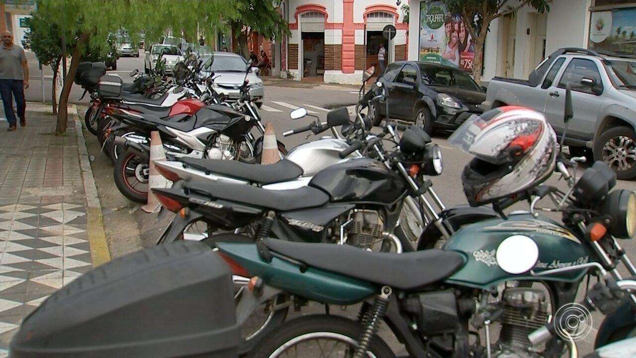 Cobrança da Zona Azul de Salto se estende para motocicletas