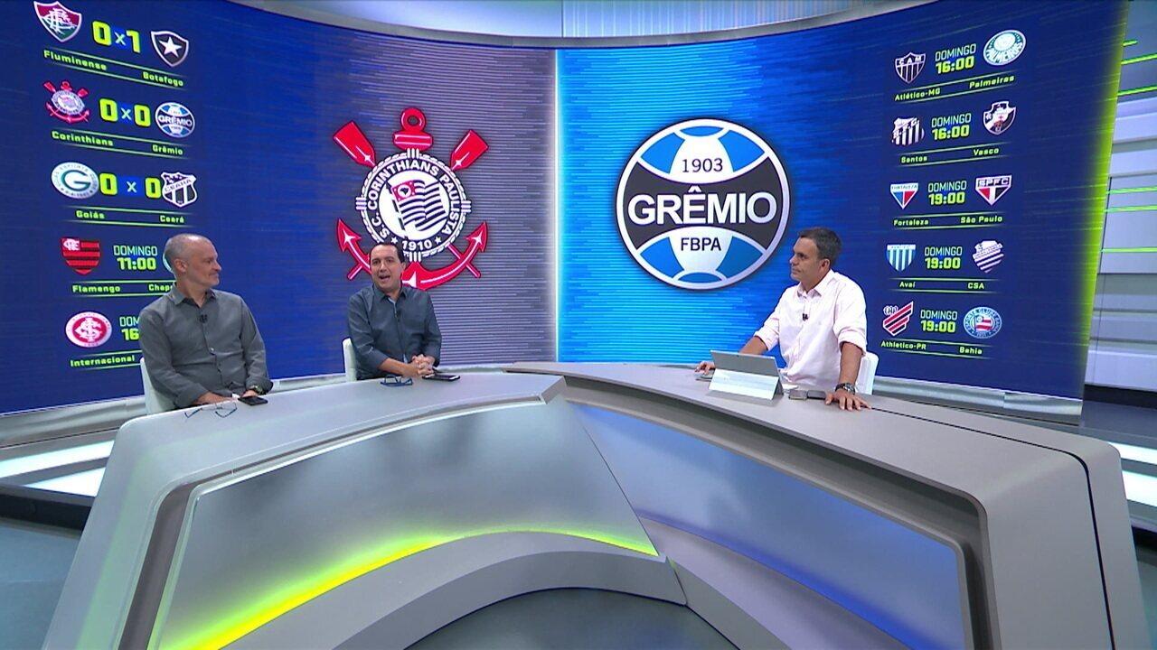 Cereto comenta partida entre Corinthians e Grêmio