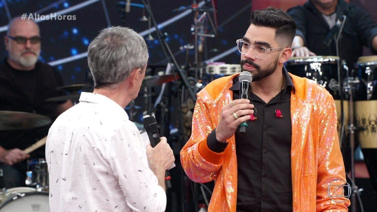 Gabriel Diniz fala da relação próxima com a mãe