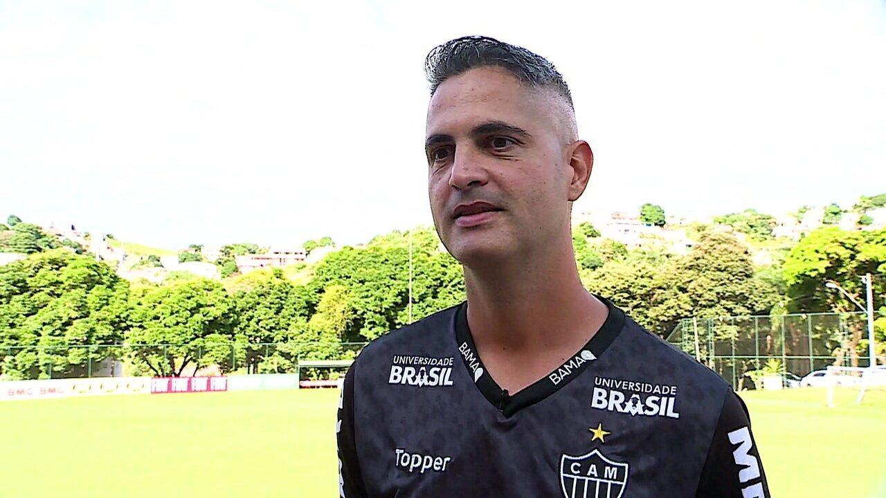 Rodrigo Satana revela inspiração em Carrile e Felipão para fazer bom trabalho no Atlético-MG