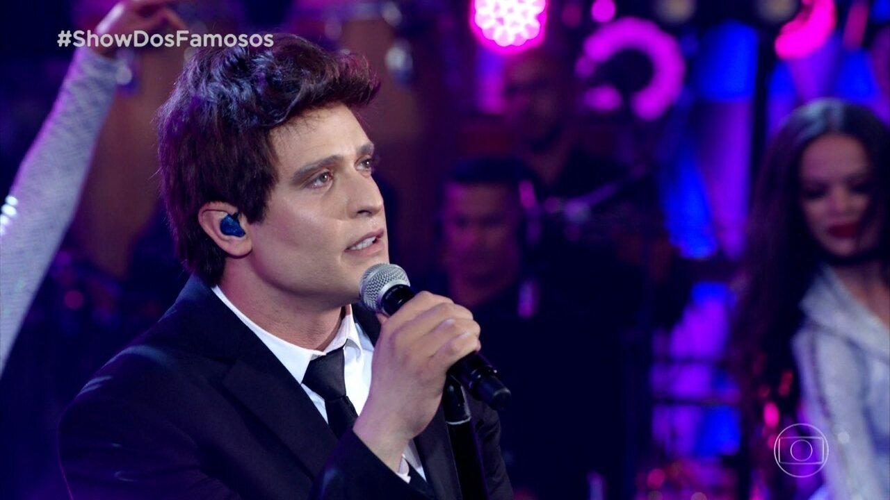 Diogo Nogueira homenageia o cantor Michael Bublé