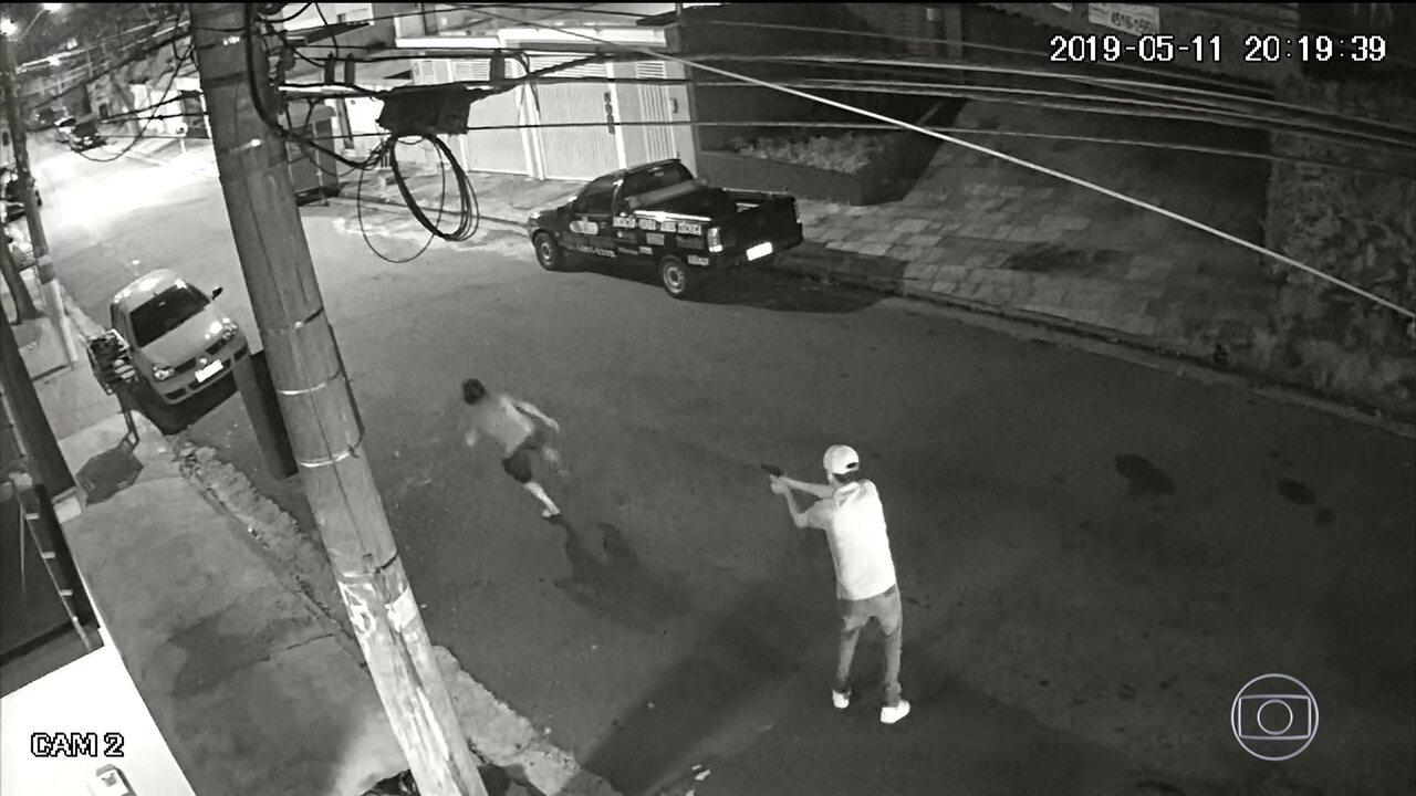 Homem é executado no meio da rua em Santo André (SP)