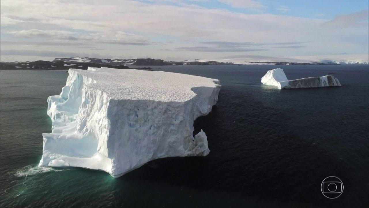 Derretimento da Antártica já está seis vezes mais rápido do que há 40 anos