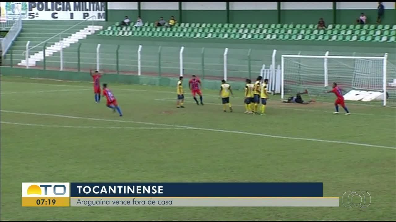 Araguaína vence o Arsenal por 2 a 1 no Tocantinense