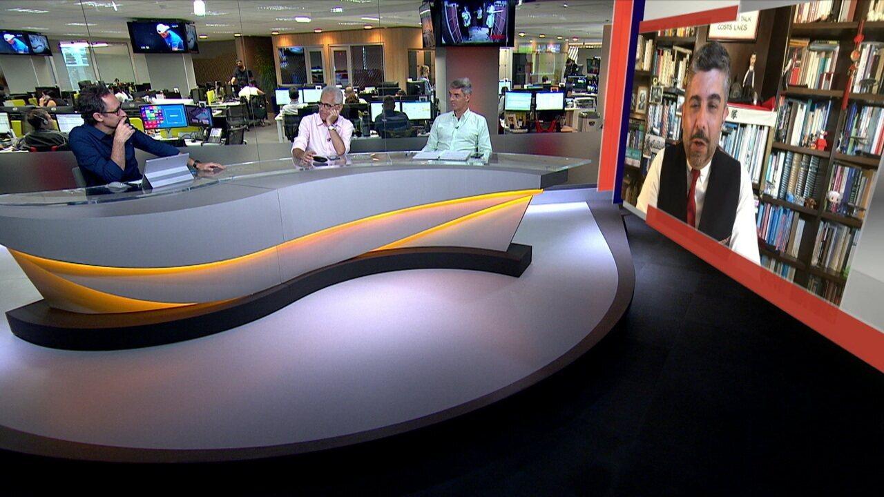 Comentaristas debatem segurança na Copa América e argentinos na Libertadores, no Redação SporTV