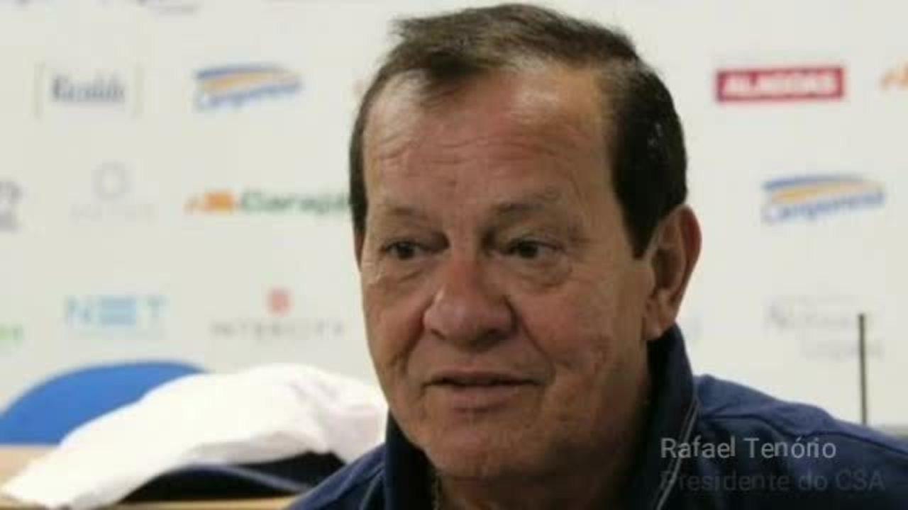 Rafael Tenório diz que não vai vender mando contra times que lutam com o CSA para não cair (ouça)