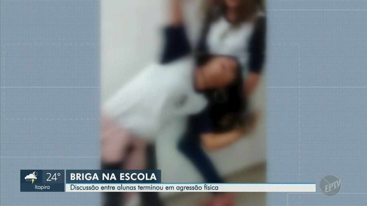 Discussão entre alunas de 11 e 13 anos termina em agressão física em escola de Campinas