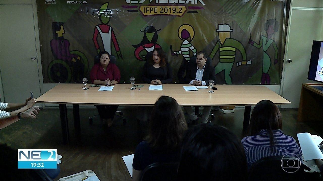 Instituto Federal de Pernambuco anuncia como vai ser o vestibular no meio do ano