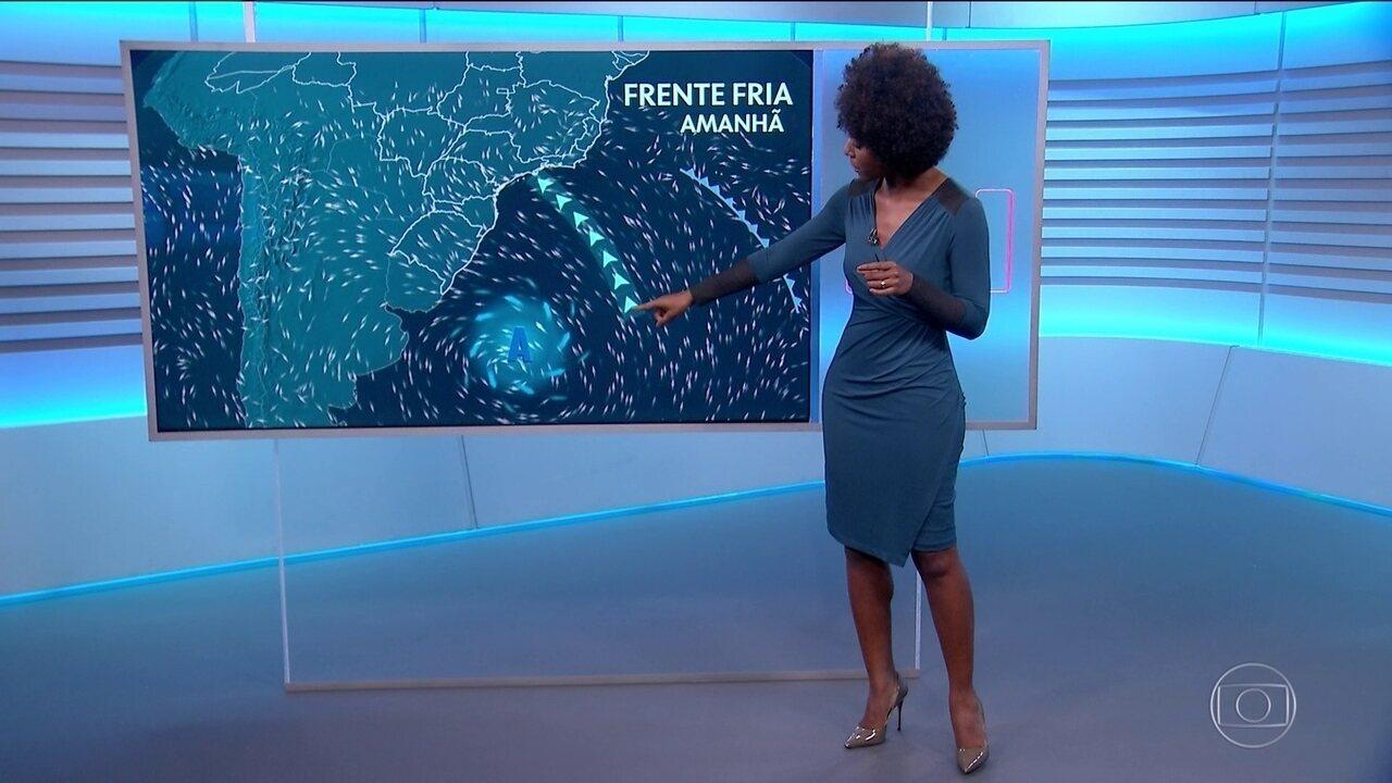 Alerta de temporais para o Rio de Janeiro e São Paulo
