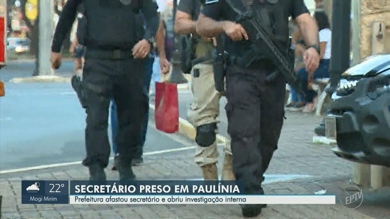 Operação da Polícia Civil prende Secretário do Desenvolvimento Econômico de Paulínia