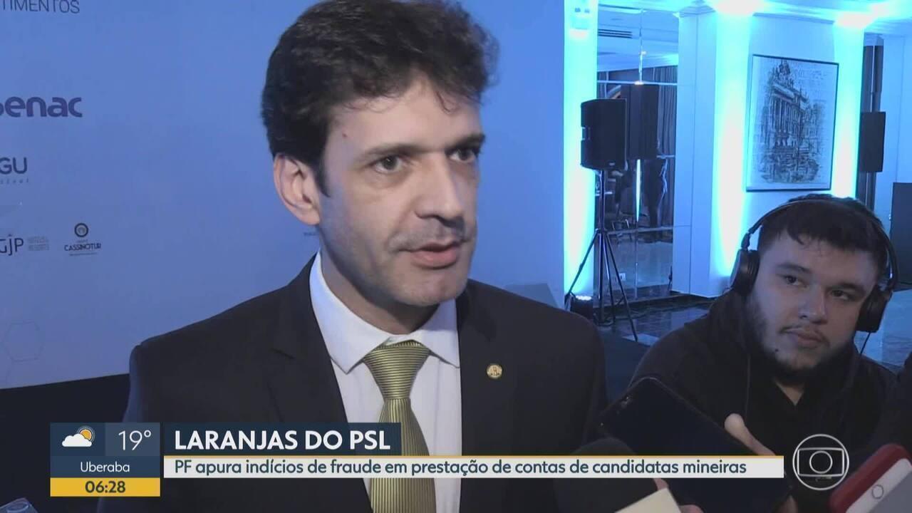 Ministro fala sobre investigação sobre supostas candidaturas-laranja do PSL
