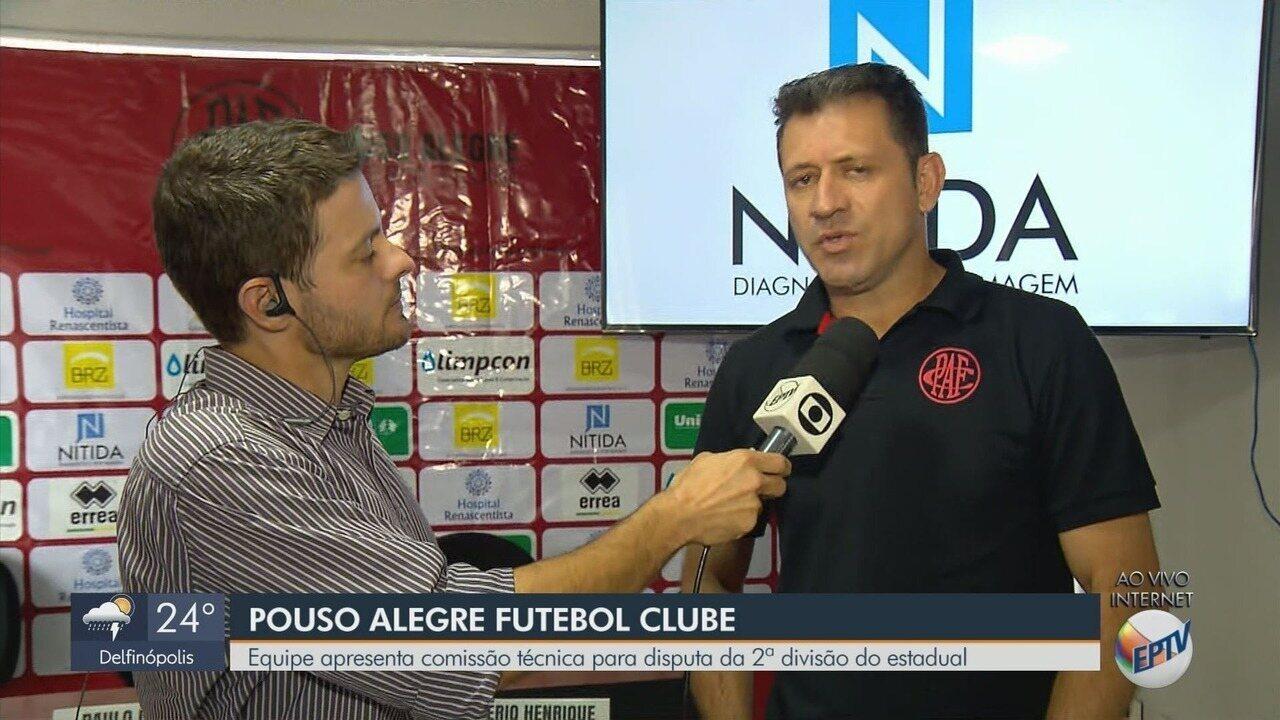 Pouso Alegre FC apresenta comissão técnica para a disputa da Segunda Divisão do Mineiro