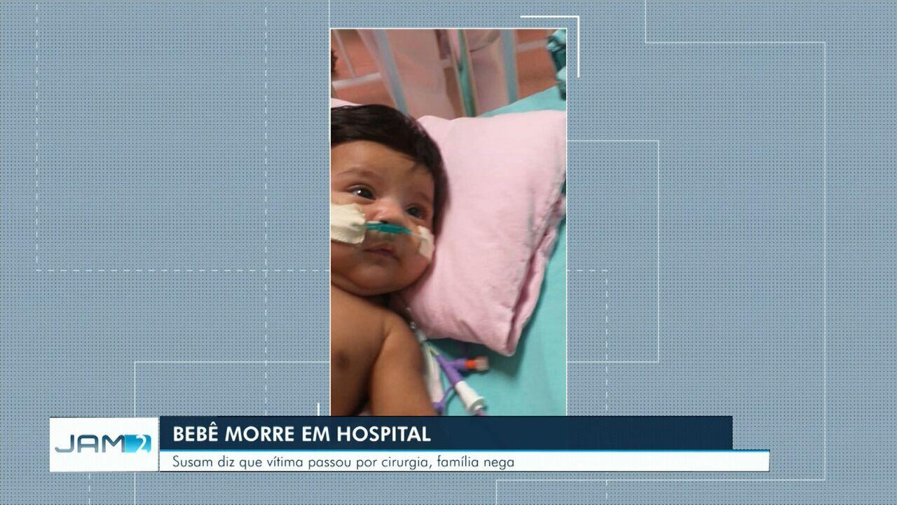 Bebê cardiopata morre em hospital um dia após leitos de UTI pediátrica serem interditados