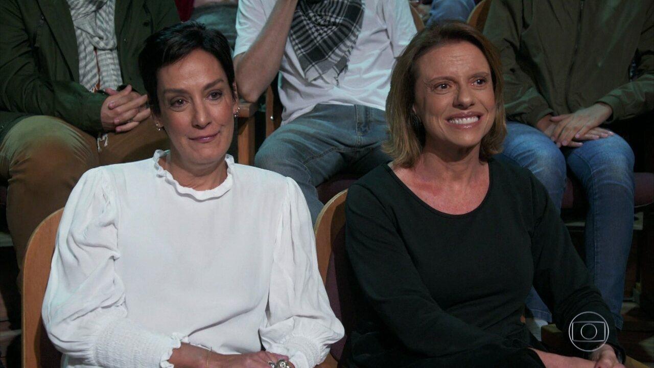 Ana Lucia Ribeiro e Marcela Bastos, ex e atual de Barbara, falam sobre experiências dela