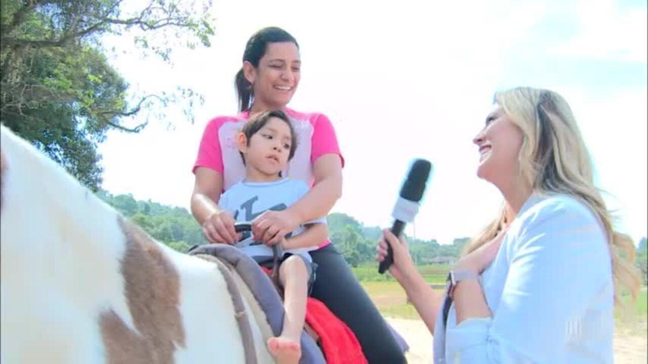 Equoterapia: terapia feita com cavalos ajuda em diagnósticos de autismo