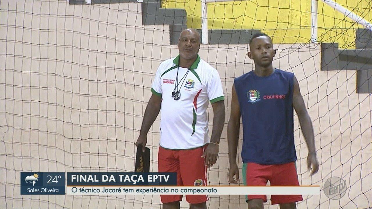 Cravinhos treina para final da Taça EPTV de Futsal Ribeirão