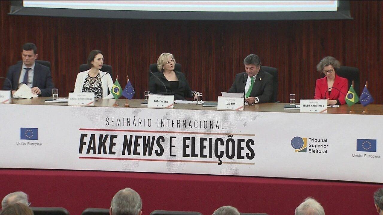 Seminário debate combate ao uso de fake news em eleições
