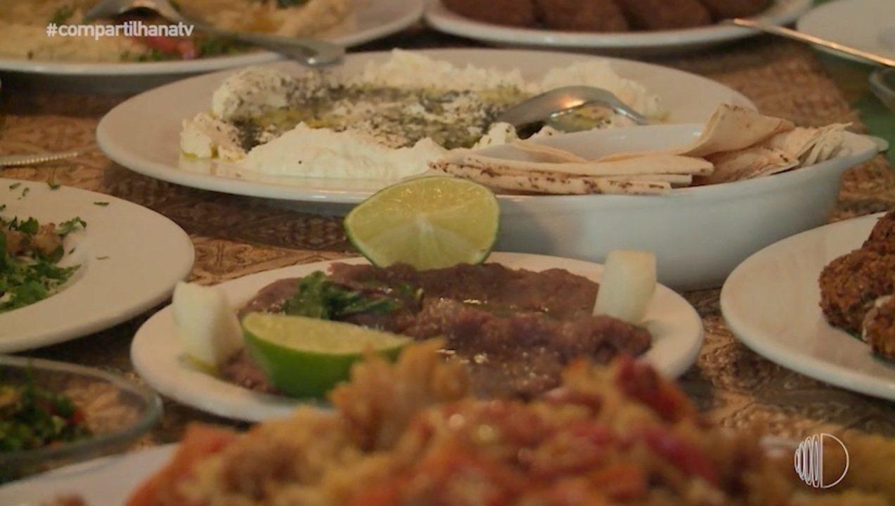 Aromas e sabores da culinária árabe recheadas de histórias