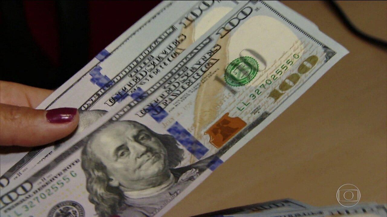 Mercado financeiro tem dia de turbulência; dólar fechou a R$ 4,09