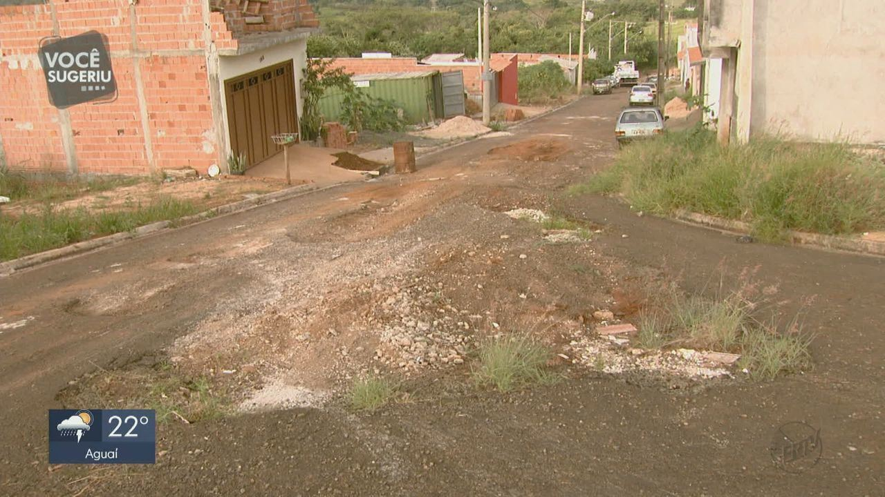 Moradores reclamam da situação das ruas no Jardim das Torres em São Carlos