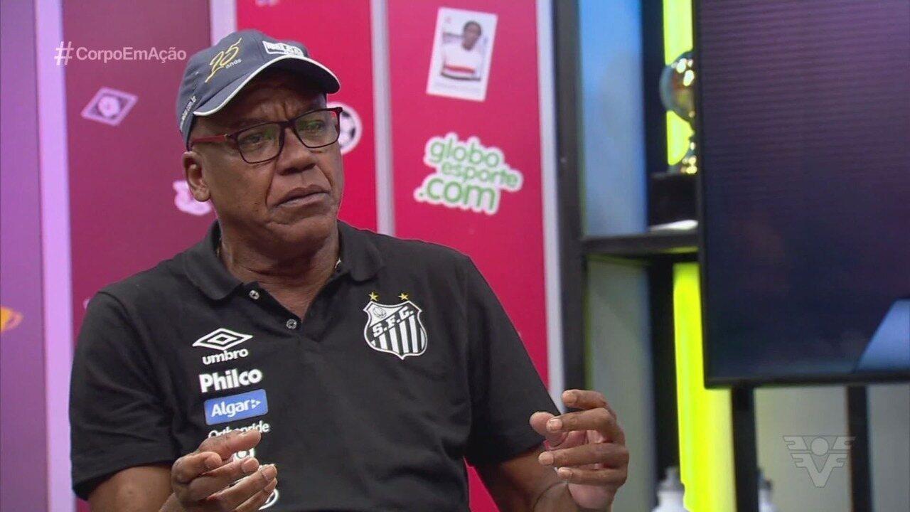 Serginho Chulapa relembra histórias curiosas na época que era artilheiro no Santos