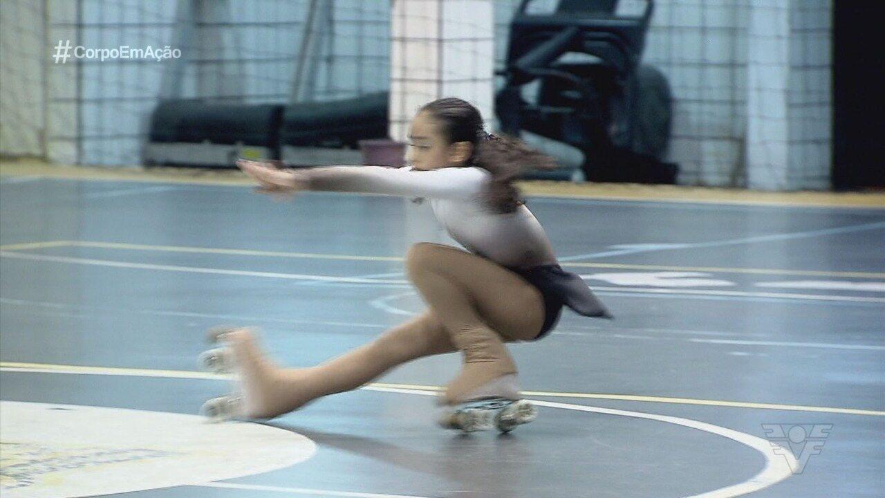 Clube Tumiaru tem representado São Vicente na patinação artística
