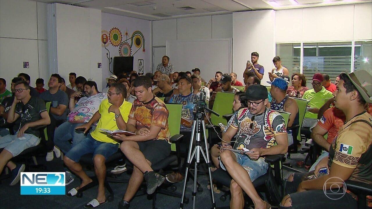 Festival de Quadrilhas Juninas da Globo tem ordem de apresentações definida por sorteio