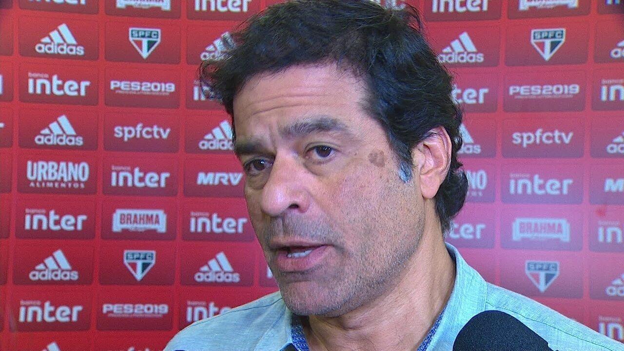 Diretor-executivo do São Paulo, Raí fala após empate contra o Bahia