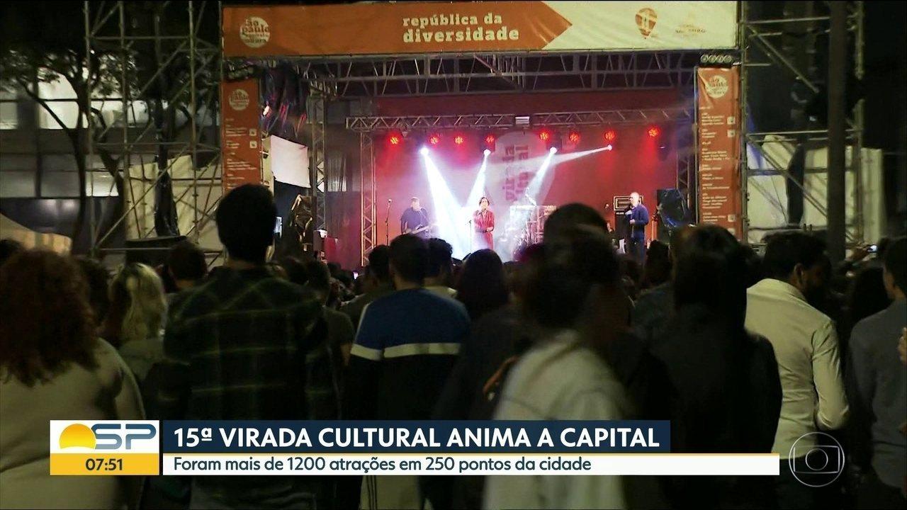 Virada Cultural 2019 apresenta variedade de atrações